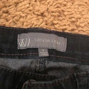 Wit & Wisdom Jeans - Wit & Wisdom 'Super Smooth' Stretch Skinny Jeans